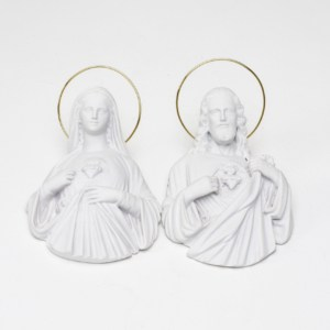 Imagem de Parede Sagrado Coração de Jesus Imaculado Coração de Maria