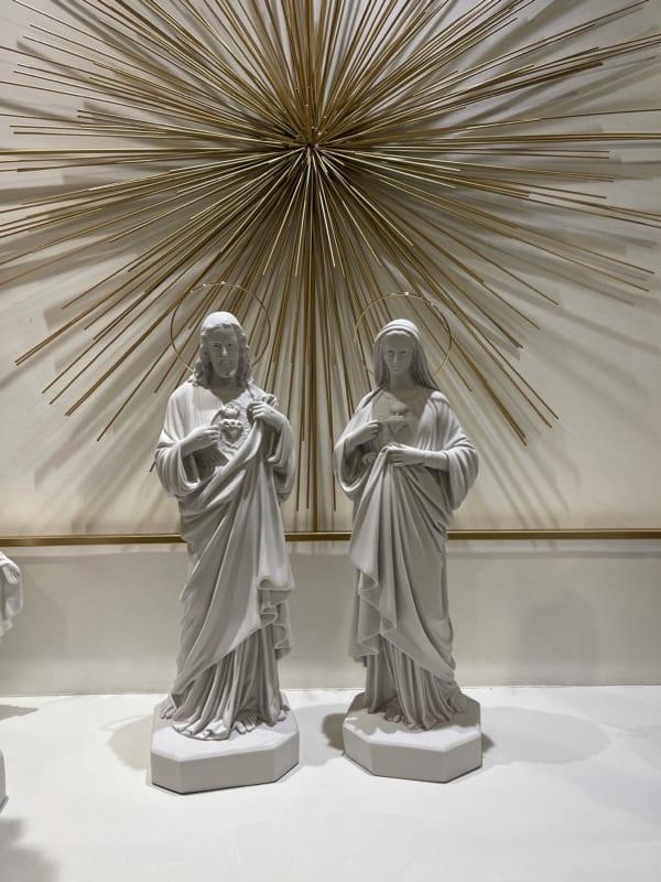 sagrado coraçao de jesus e imaculado coração de maria