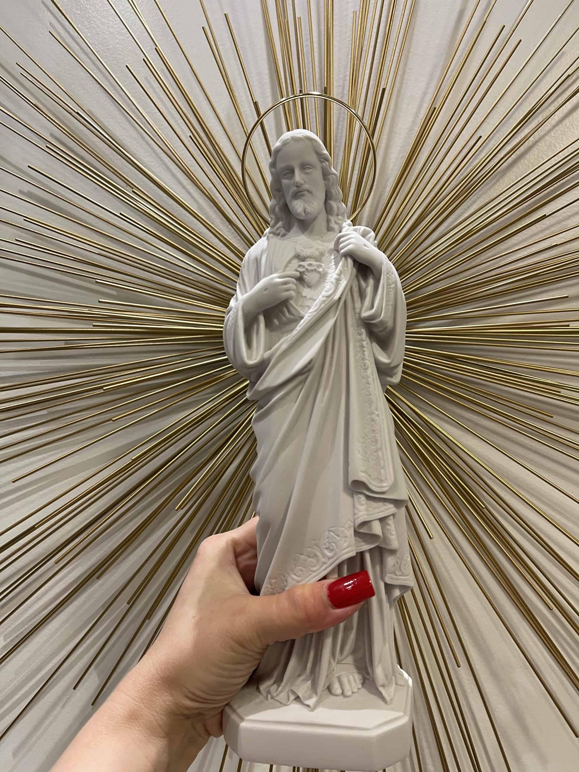 sagrado coração de jesus 32cm