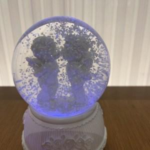 anjinho bola com luz a pilha